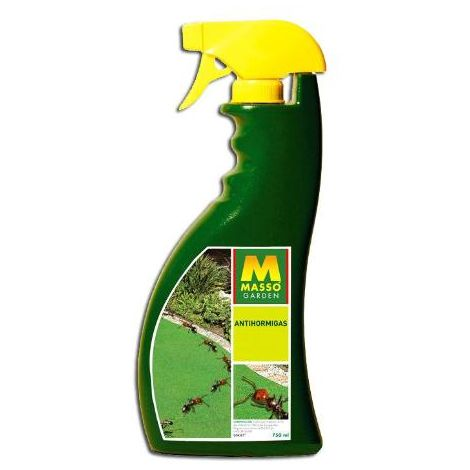 MIBRICOTIENDA masso garden pistola antihormigas spray 750 ml 231088