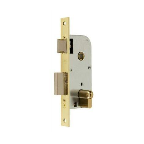 MIBRICOTIENDA mcm cerradura embutir madera 1301-240a311 40 canto rect.latonado