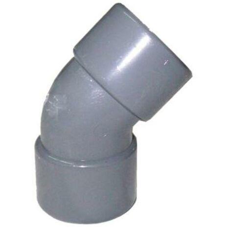 MIBRICOTIENDA pvc codos mh 45º de 160