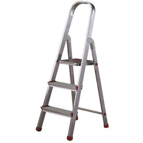 MIBRICOTIENDA rolser escaleras aluminio domestica plus 3 peld dop001 en131