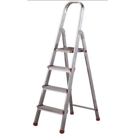 MIBRICOTIENDA rolser escaleras aluminio domestica plus 4 peld dop002 en131