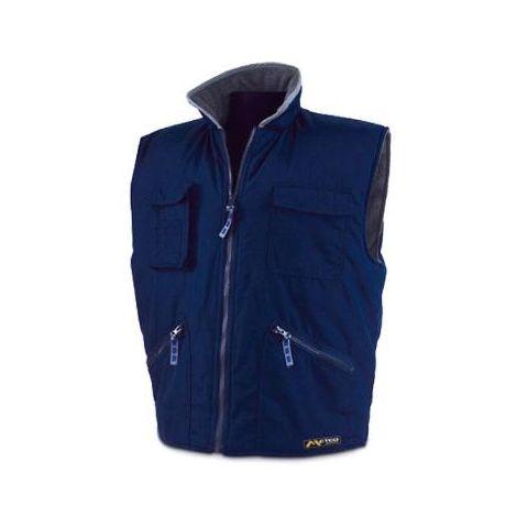 MIBRICOTIENDA ropa abrigo chaleco nautico azul xxl 288vpa int.forro polar