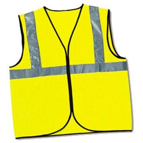 MIBRICOTIENDA ropa chaleco alta visibilidad talla unica amarillo 288-hv014xl