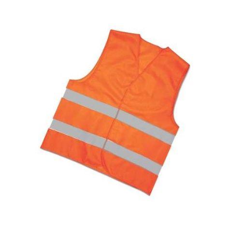 MIBRICOTIENDA ropa chaleco alta visibilidad talla unica naranja 01550