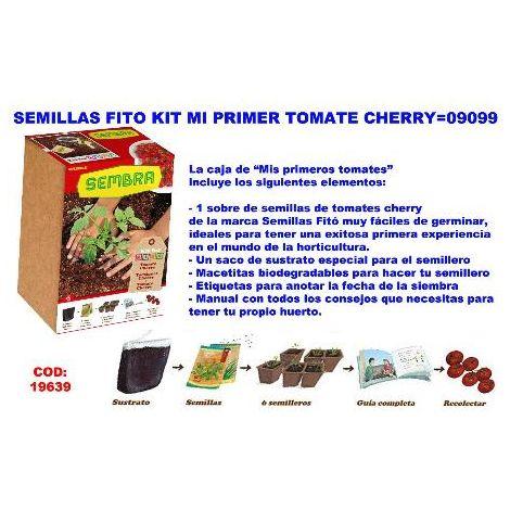 MIBRICOTIENDA semillas fito kit mi primer tomate cherry 09099