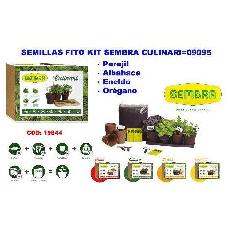 MIBRICOTIENDA semillas fito kit sembra culinari 09095