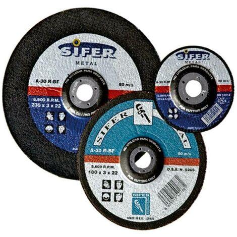 MIBRICOTIENDA sifer disco corte hierro 230x3,0x22 r133