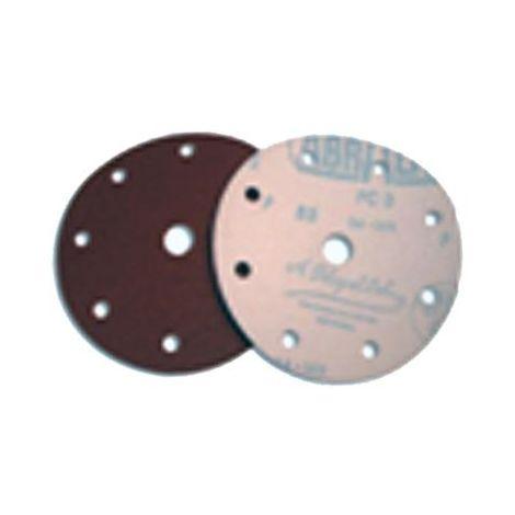 MIBRICOTIENDA sifer lija disco velcro 25 undx150 8+1 agujeros gr-120