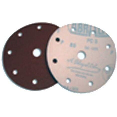 MIBRICOTIENDA sifer lija disco velcro 25 undx150 8+1 agujeros gr- 80