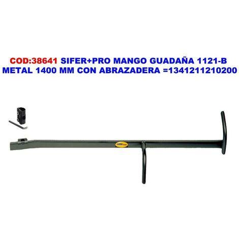 MIBRICOTIENDA sifer+pro mango guadaña 1121-b+abrazadera 1400 mm 1341211210200