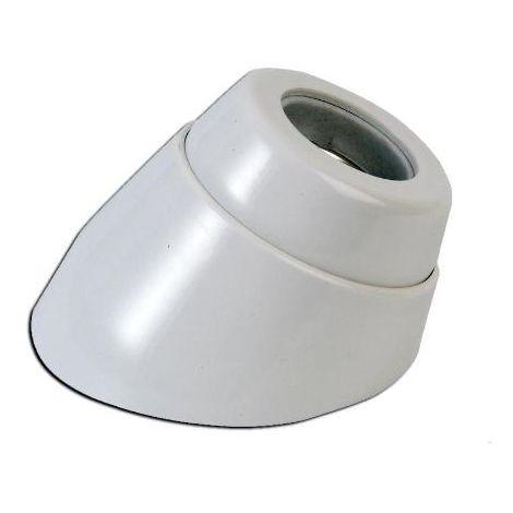 MIBRICOTIENDA simon portalampara bakelita blanco e-27 zocalo curvo il552200