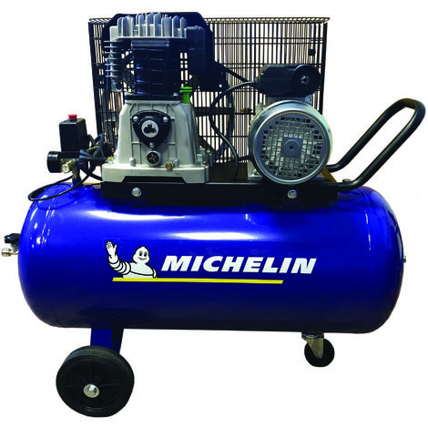MICHELIN Compresseur 100 litres à gros débit d'air