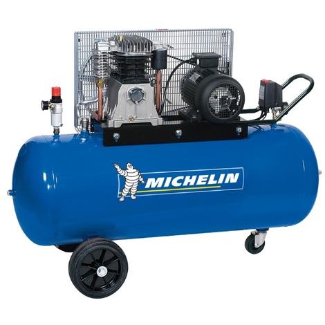 Michelin - Compresseur 200L courroie 3 CV 10 bars gros débit - MCX200/415