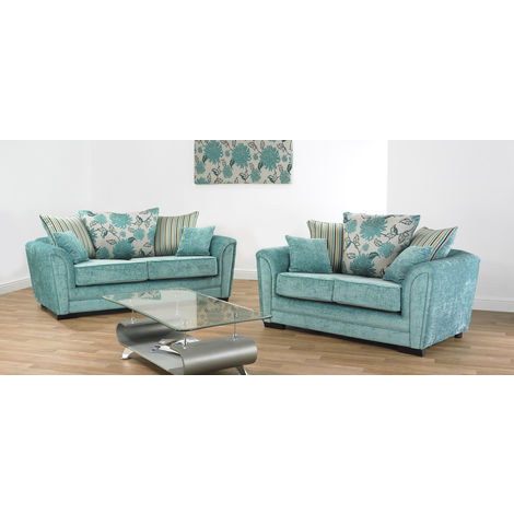 Michigan 3 + 2 seater fabric Sofa