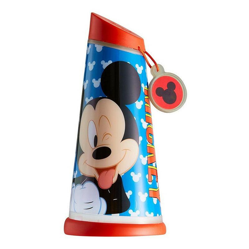 Veilleuse lampe torche nomade bleue Mickey Mouse Disney