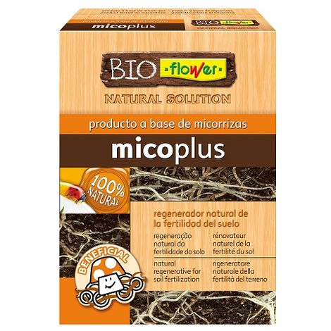 Micoplus Micorrizas Regenerador Natural de la Fertilidad del Suelo FLOWER - 2 x 3 g