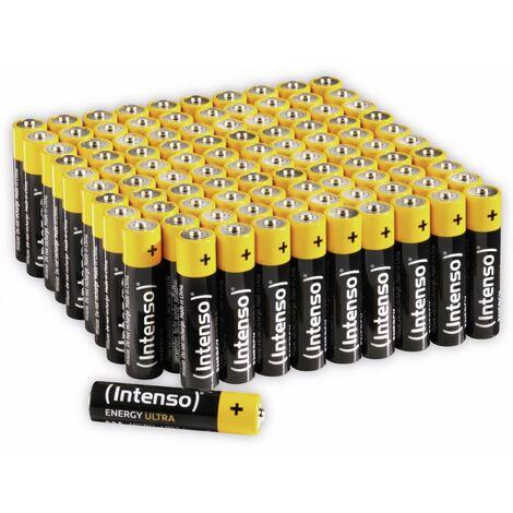 Micro-Batterie INTENSO Energy Ultra, AAA LR03, 100 Stück