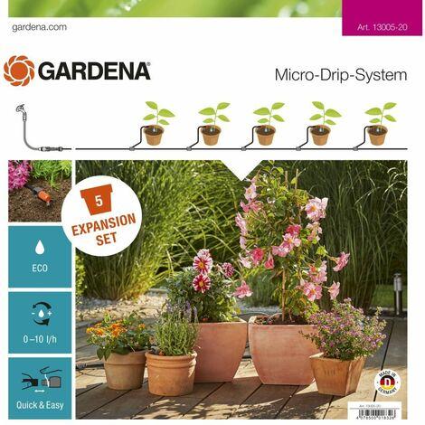 Micro-Drip-System Erweiterungsset Pflanztöpfe | 13005-20
