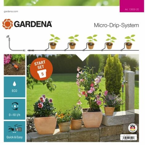 Micro-Drip-System Start-Set Pflanztöpfe S | 13000-20