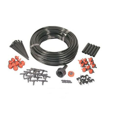 Micro Garden Plant Watering Water Irrigation System Kit 74pc