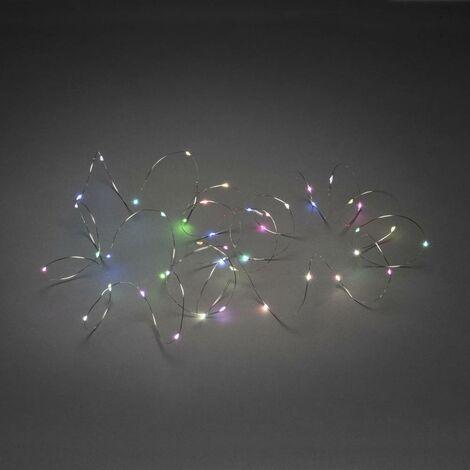 Micro guirlande lumineuse Konstsmide 6333-590 6333-590 LED intégrée multicolore N/A 3.6 kWh/1000h