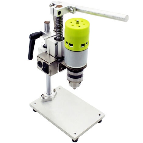 """main image of """"Micro mini bench drill drilling machine milling machine, all aluminum high-speed small bench drill"""""""