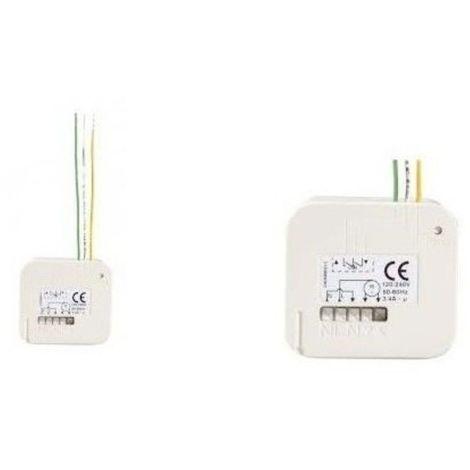 Micro récepteur volet roulant RTS Somfy - Identique à la référence SY2401162 - COMPATIBLE SIMU - 1811244.