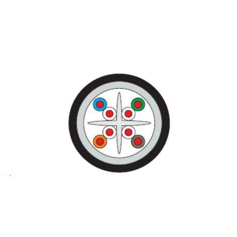 MICRO TEK PER METER UTP CABLE CAT6 PVC/PE OUTDOOR MTK65PEB10