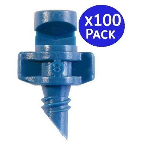 Microaspersor de riego 180º 1-1,3 mts. 100 unidades