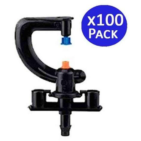 Microaspersor de riego 360º. 100 unidades