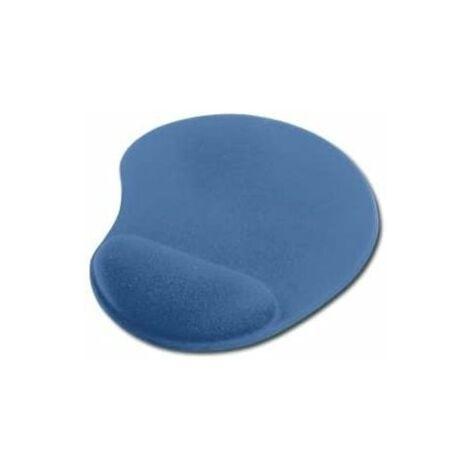 MicroConnect IC-64218 - Tapis de souris ergonomique pour repose-poignets, bleu