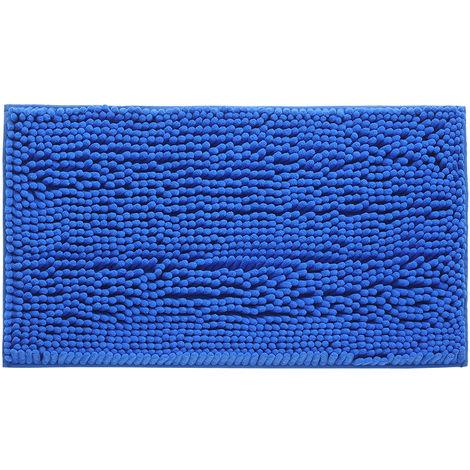 Microfiber Bath Rugs Chenille Soft Carpet Indoor Washable Bathroom Floor Mat