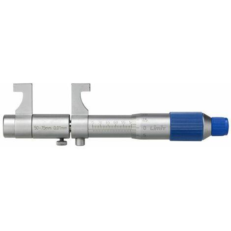 Micromètre d'intérieur 25-50mm avec bague de réglage Limit MMI50