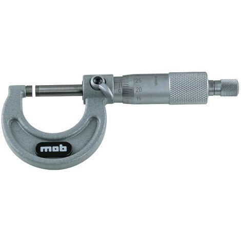 MICROMETRE EXTERIEUR CAPACITE 0-25MM - GAMME METROLOGIE, MESURE, TRACAGE - OUTIL PROFESSIONNEL - MOB