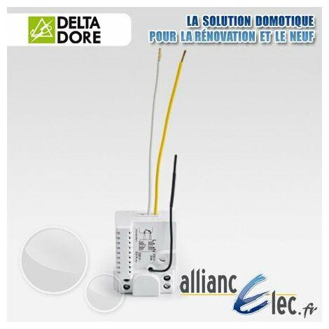 Micromodule récepteur radio - 1 voie contact sec maintenu TBTS - Deltadore Tyxia 4600