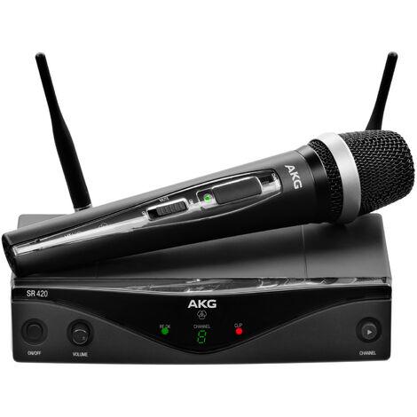 Microphone à main sans fil WMS-420 HT U1 AKG