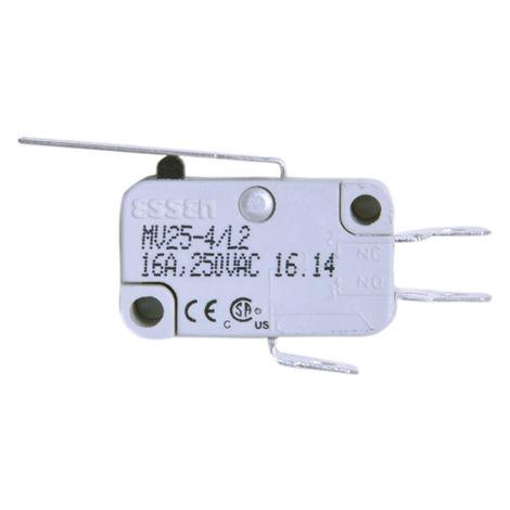 Microrupteur à Levier long droit, 1RT, 16 A 250V ac