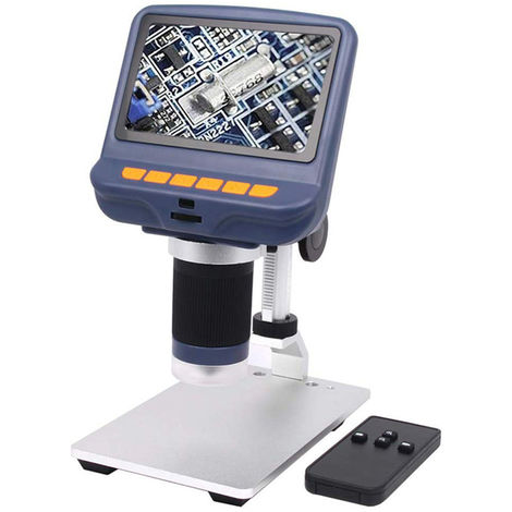 Microscopio de escritorio, microscopio digital, aumento de 220X, 4.3 pulgadas