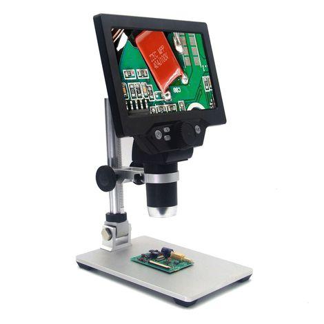Microscopio digital G1200 12MP Pantalla LCD grande básica de pantalla grande a color de 7 pulgadas