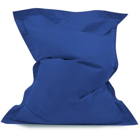 Mid Baz Giant Bean Bag - 140cm x 110cm, Water Resistant Indoor Outdoor Floor Cushion