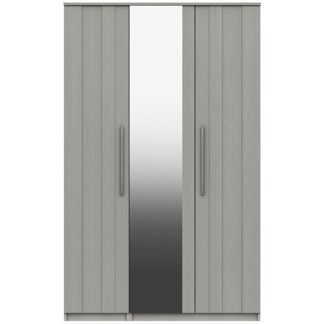 Midas Three Door Mirror Wardrobe