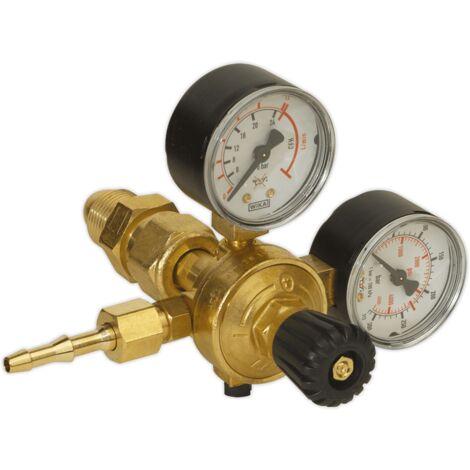 MIG Gas Regulator 2 Gauge Industrial
