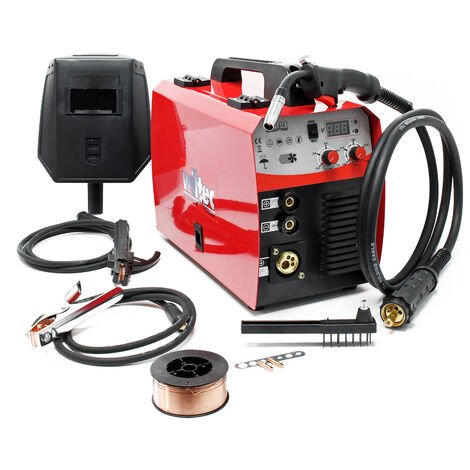 MIG - Machine à souder MAG avec 40-180 Ampères pour fil d'apport de 0,6-1,0 mm