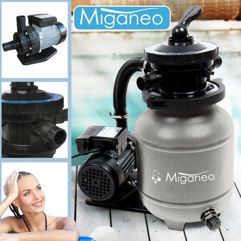 Grau 6500 Sandfilteranlage Dynamic Pumpleistung 4 5m³ Miganeo® 4RjA5L