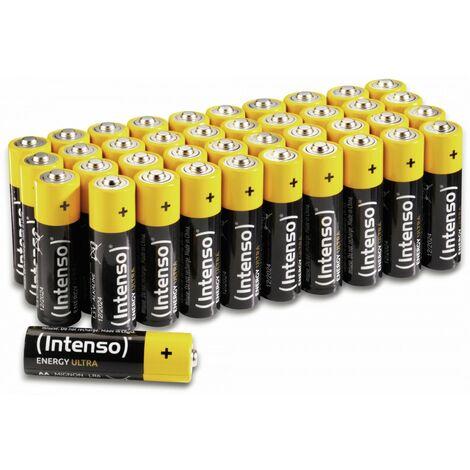 Mignon-Batterie INTENSO Energy Ultra, AA LR06, 40 Stück
