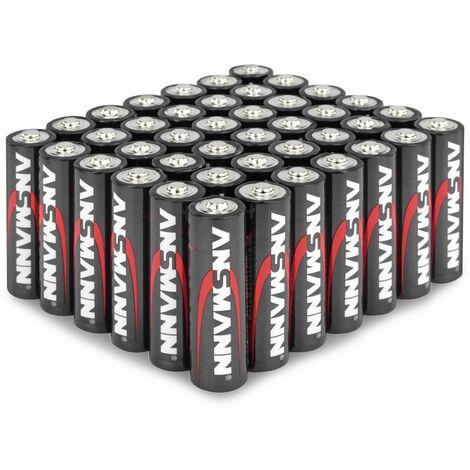 Mignon-Batterieset ANSMANN, Alkaline, 42 Stück