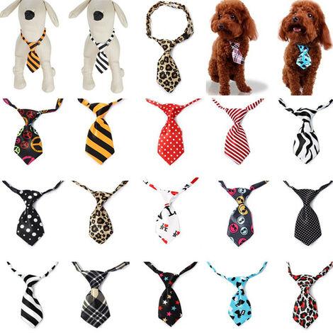 mignon chien chat chiot réglable noeud papillon collier cravate accessoire pour animaux de compagnie 13