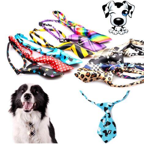 mignon chien chat chiot réglable noeud papillon collier cravate accessoire pour animaux de compagnie 9