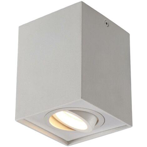 Mikail - lampada da soffitto, parallelepipedo GU10