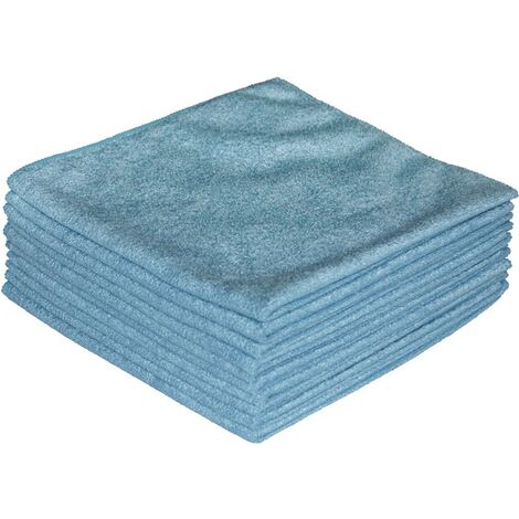 Mikrofasertuch ECONOMY blau L400xB400ca.mm Textil 1 KT Nordvlies